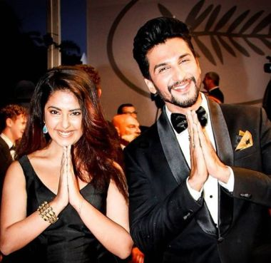 Manish Raisinghan with Avika Gor