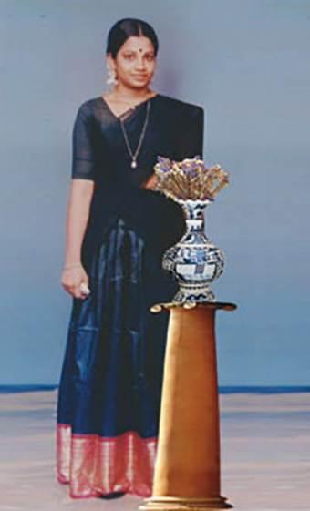 Bhagyalakshami in her teens
