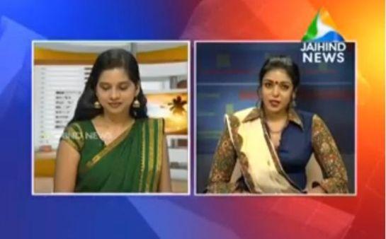 Sandhya Manoj on Jai Hind News TV Kerala