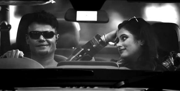 Geetha Bharathi Bhat in the music video of Sweetu