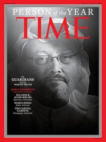 Jamal Khashoggi - Time Person of the Year