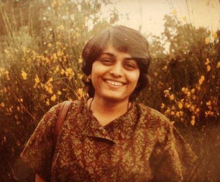 Nidhi Subbaiah's mother