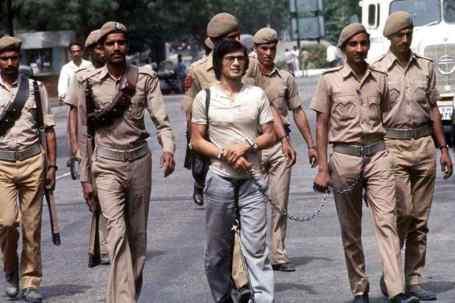 Charles Sobhraj been taken away to Tihar Jail in Delhi