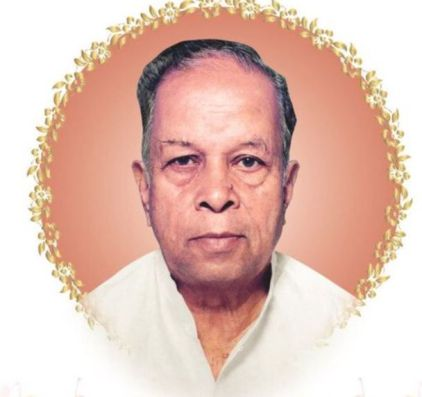 Dilip Walse Patil's father