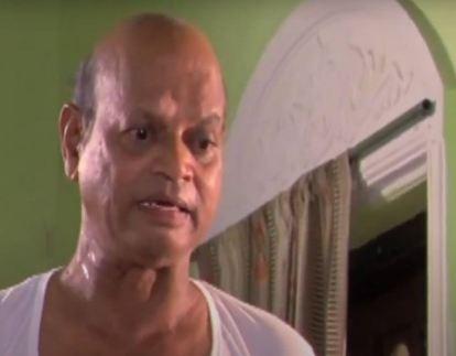 Kishore Nandlaskar in a Marathi film