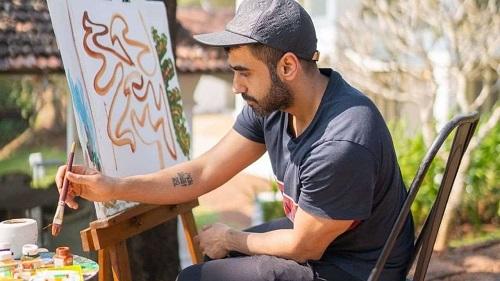 Nikhil Kamath's tattoo
