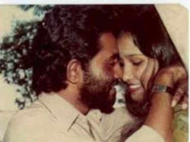 Taslima Nasrin with her 1st husband, Rudra Mohammad Shahidullah