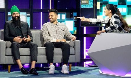 Humble on the show €œA Little Late With Lilly€ with Jay Shetty
