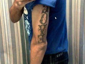 Humble the Poet's 'Love' tattoo