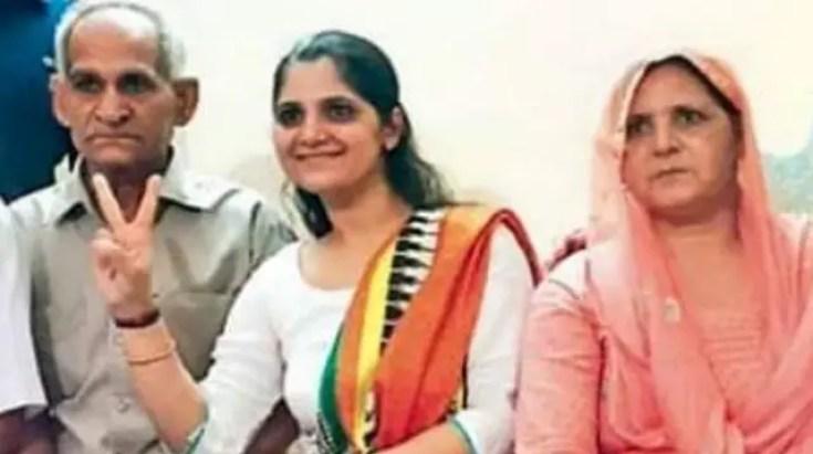 Anu Kumari with family