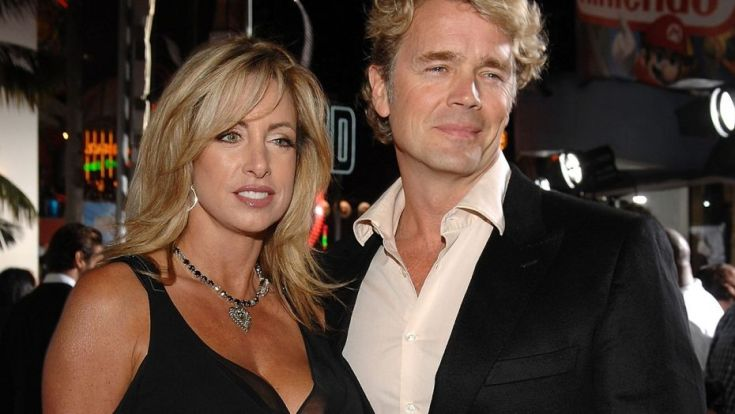 John Schneider with wife Elly