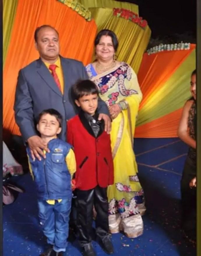sanjeev srivastava family