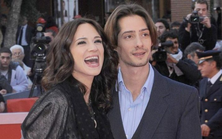 Asia Argento With Ex-Husband