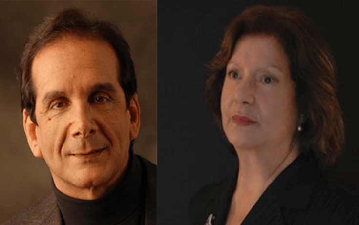 Robyn Krauthammer and Charles Krauthammer