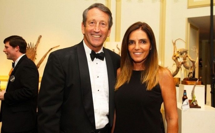 Mark Sanford and María Belén Chapur