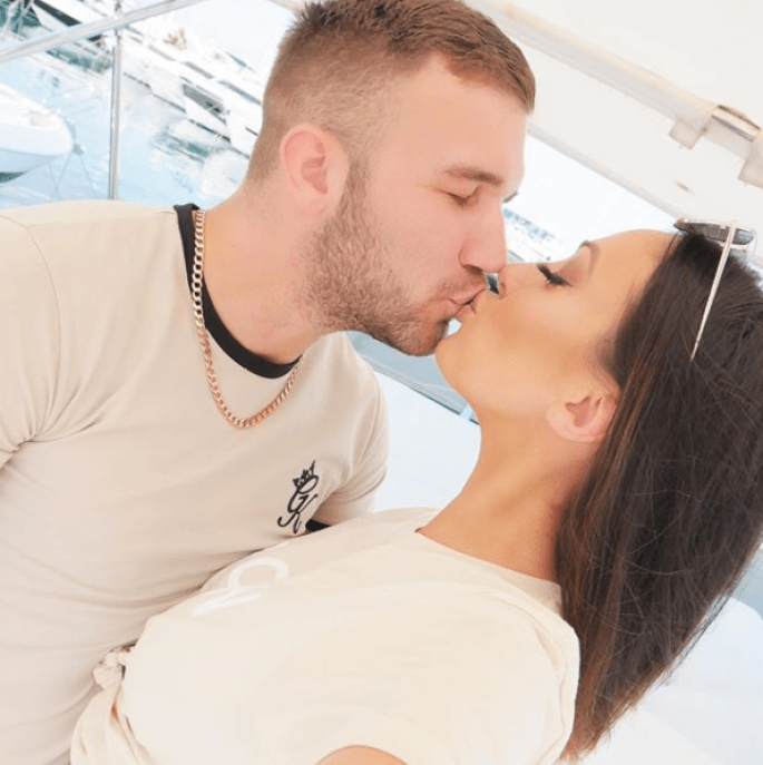 Aaron Armstrong, Sophie Gradon's Boyfriend