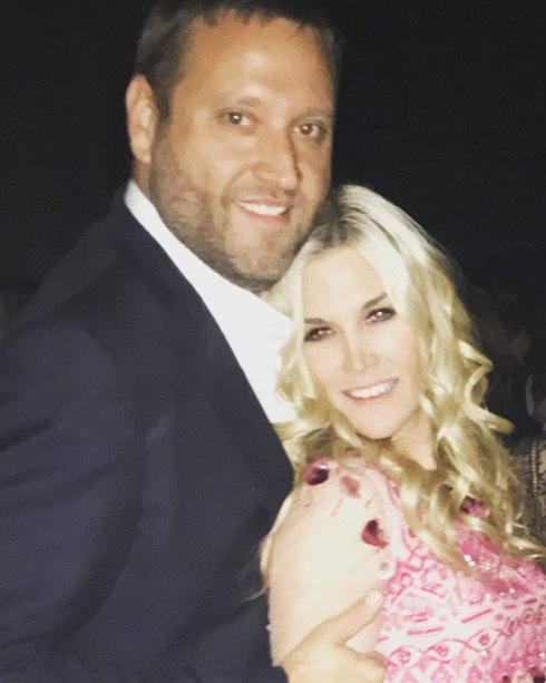 Tinsley Mortimer and Scott Kluth