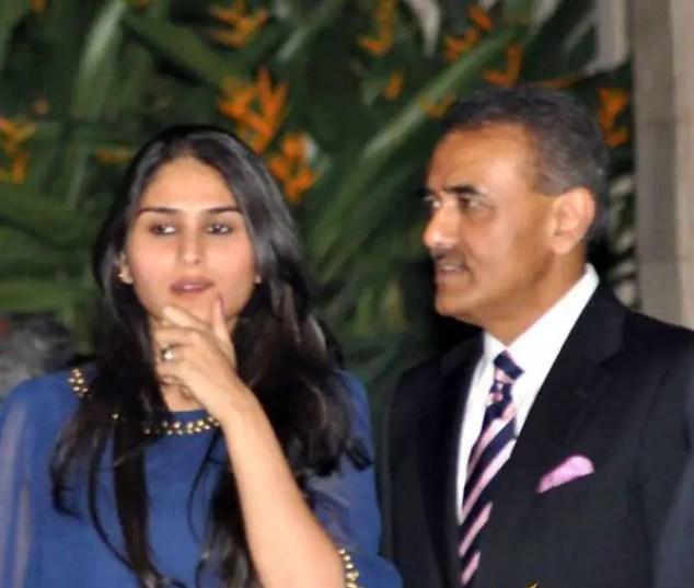 Praful Patel and Poorna Patel