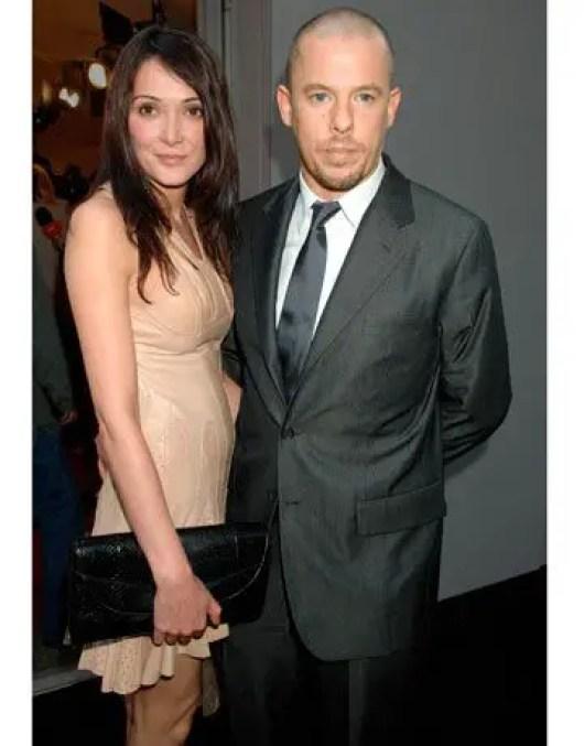 Annabelle Neilson and Alexander McQueen