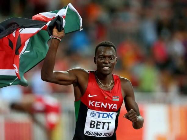 Nicholas Bett, 400 meters hurdles world champion