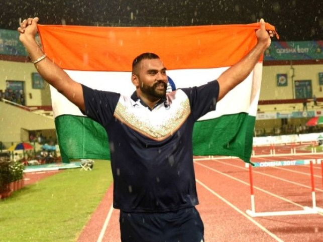Tejinderpal Singh, Shot Putter Athlete