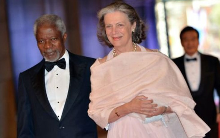 Nane Maria Annan, Kofi Annan's second Wife