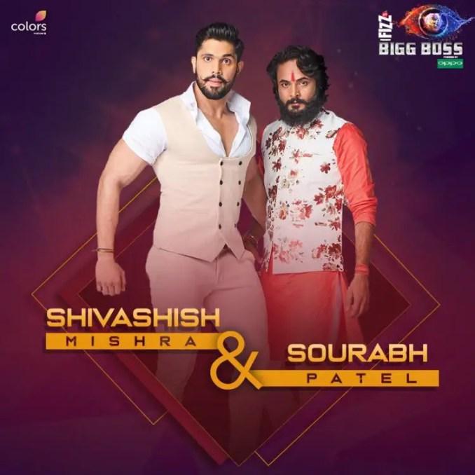 Sourabh Patel and Shivashish Mishra, Bigg Boss 12