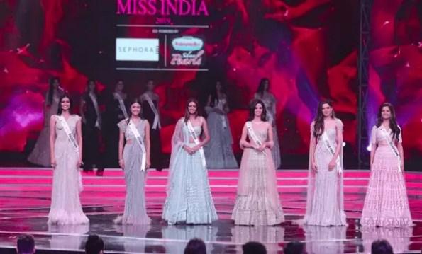 Shivani Jadhav, Miss India 2019 1st Runner Up