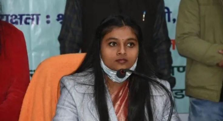 Shrishti Goswami Cheif Minister