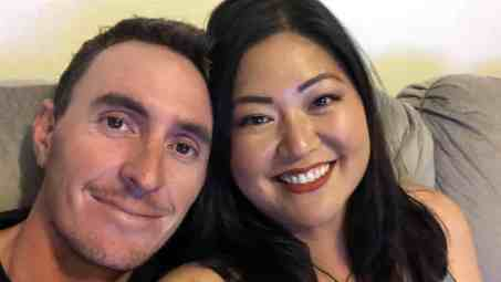 An Image of Duncan French and his wife Christina Kim
