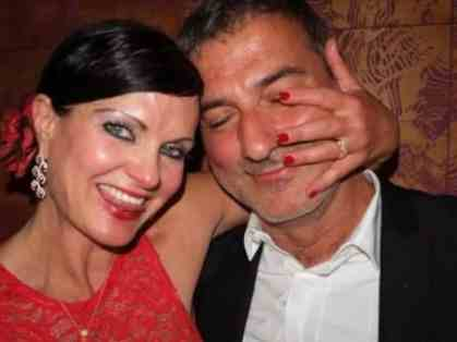 An Image of Emanuela Pecchia and her husband Paolo