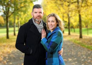 An Image of Padraig McLoughlin and his wife Kathryn Thomas