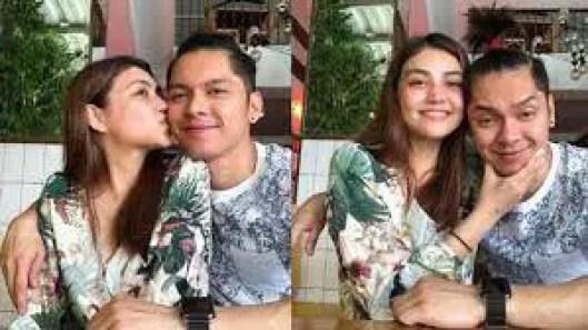 Trina Candaza with Carlo Aquino