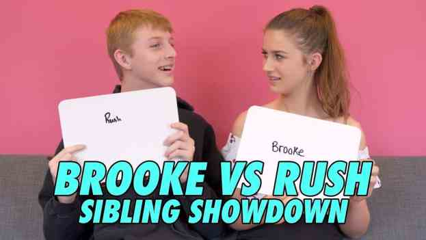 Rush butler with Brooke Butler