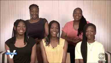 An Image of Tai Sheppard and her family