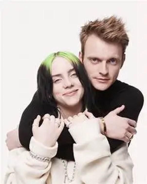 Billie Eilish with Finneas