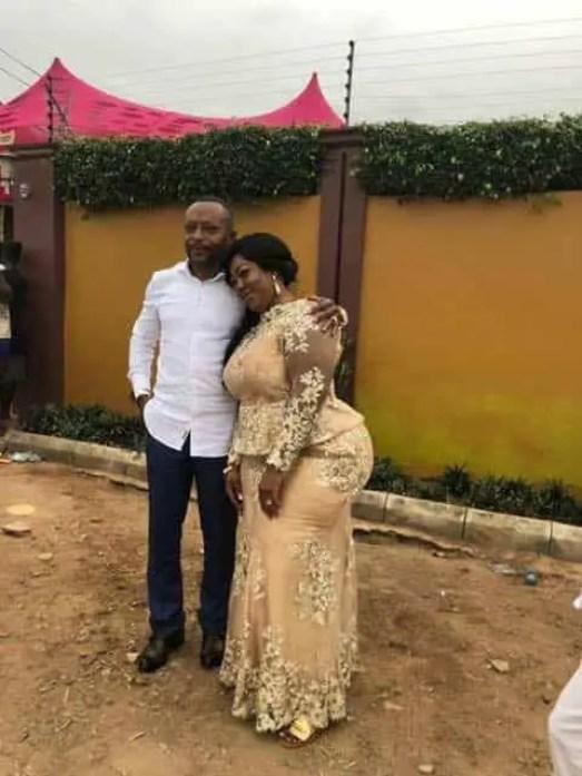 Owusu Bempah with his third wife