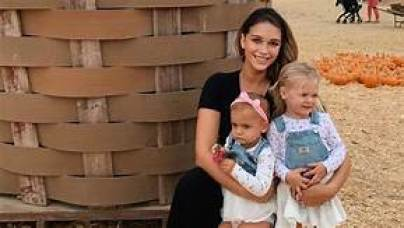 April love Geary with her children