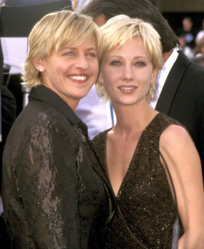 Ellen DeGeneres Ex Anne Heche Says Romance With the TV