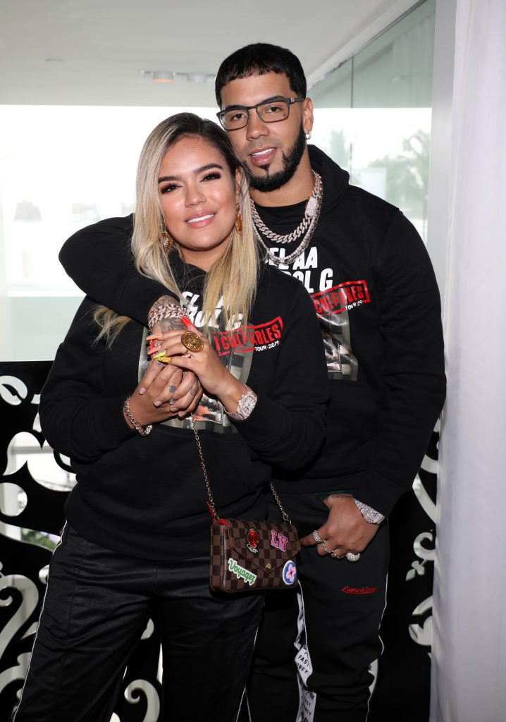 Anuel AA Girlfriend