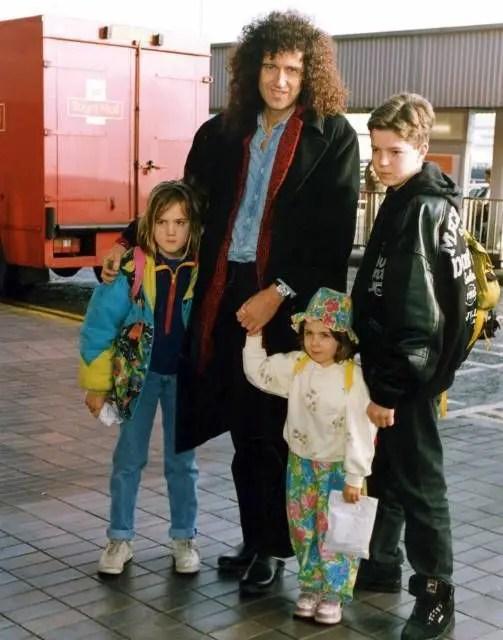 Brian May Family