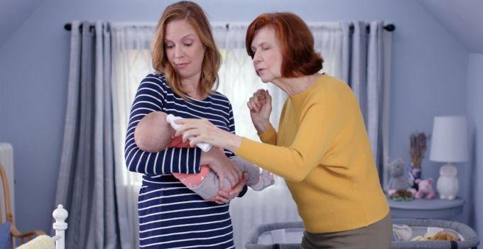 Bayi rewel karena dahak menggumpal