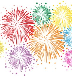 fireworks firework clipart colorful [ 3308 x 2415 Pixel ]