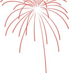 fireworks firework clipart simple image [ 2000 x 3300 Pixel ]