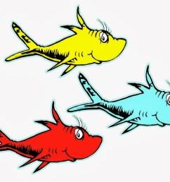 dr seuss clip art fish free clipart images [ 1102 x 905 Pixel ]