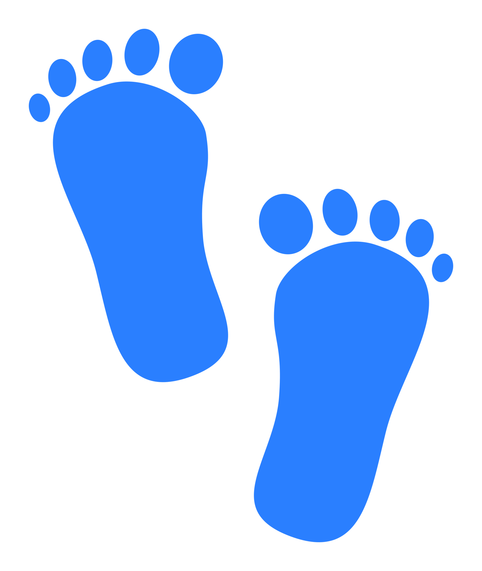 hight resolution of baby feet clipart baby footprints blue