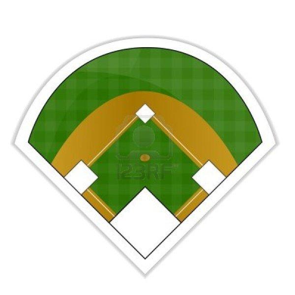 baseball diamond clipart 3 - wikiclipart