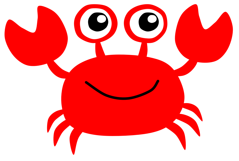 medium resolution of cute crab clipart free images