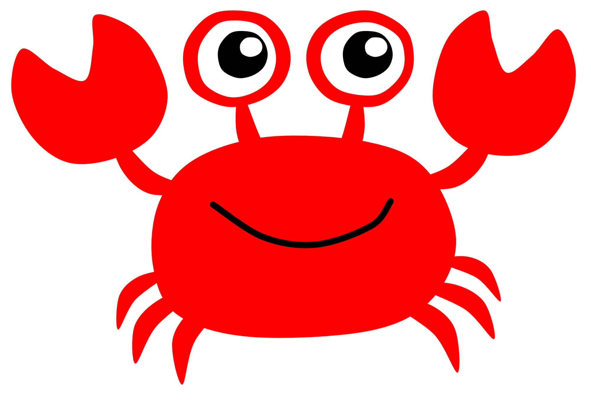 hight resolution of cute crab clipart free images