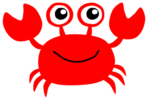 small resolution of cute crab clipart free images